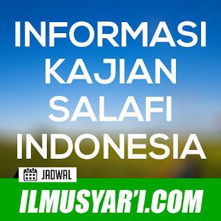 Informasi Jadwal Kajian Sunnah di palangkaraya