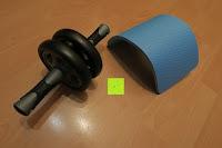 Erfahrungsbericht: KYLIN SPORT Bauchtrainer Ab Roller Bauchmuskeltrainer Dual Wheel Ab-Wheel mit Knie Pad