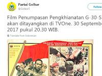 Hoax / Fakta? Jawaban Pihak TVone Mengenai Isu Tayang Film G30S/PKI
