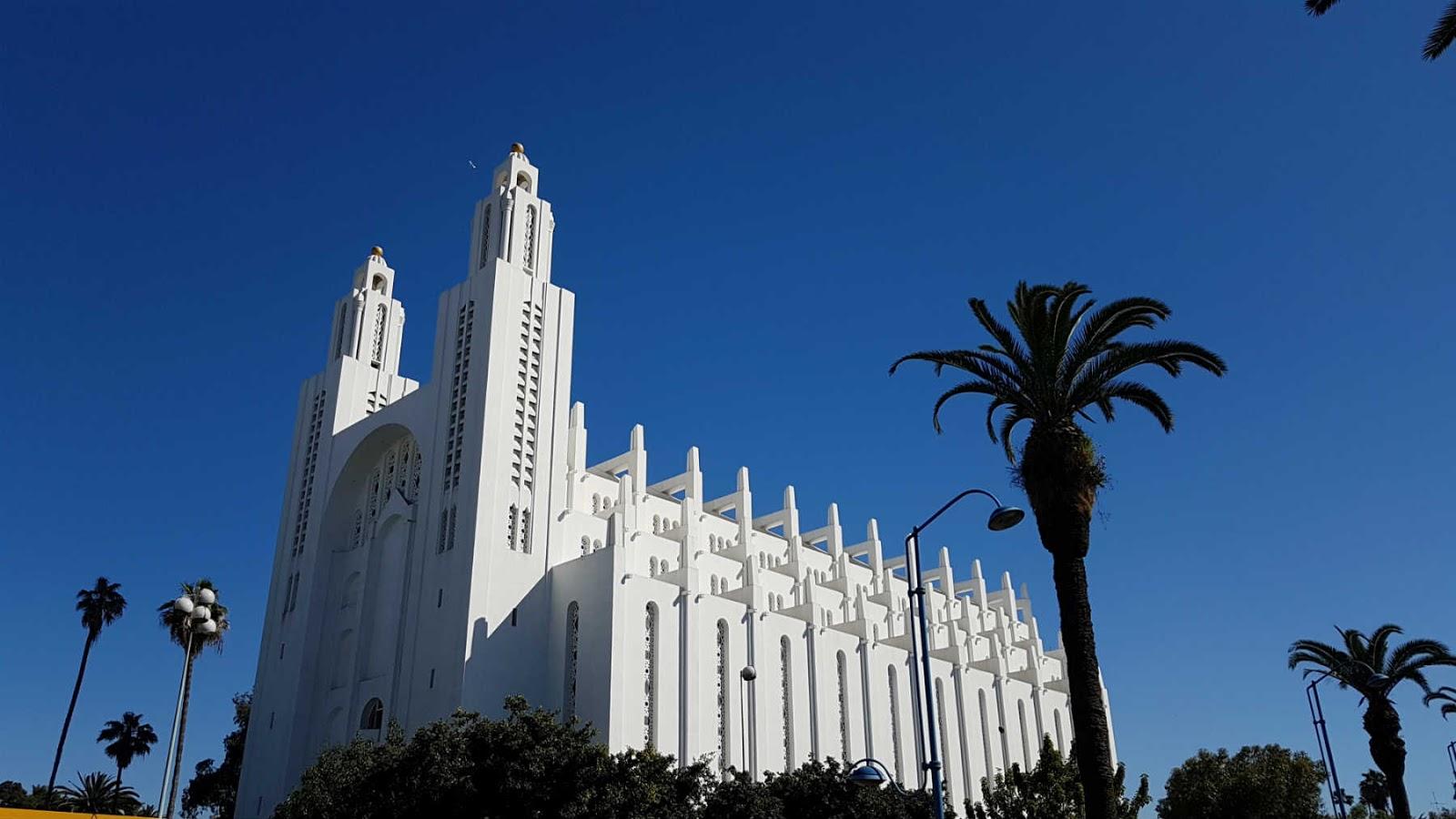 Catedral de Casablanca.