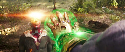 infinity war thanos uses time stone