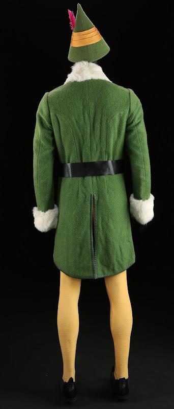 Buddy Elf movie costume back