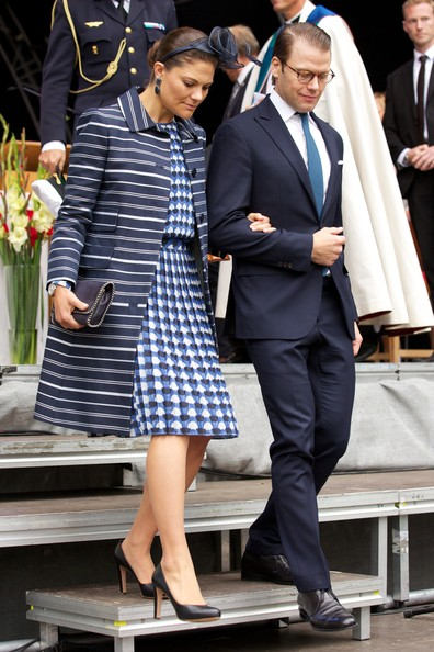 Princess Victoria wore Baum und Pferdgarten Pleated Skirt and Top