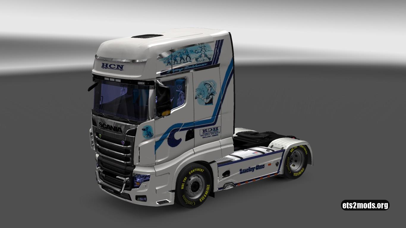 HCN Skin Pack for Scania