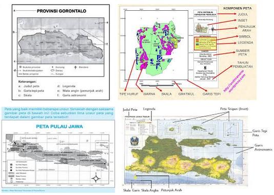 Pengertian Peta & Unsur Unsur Peta