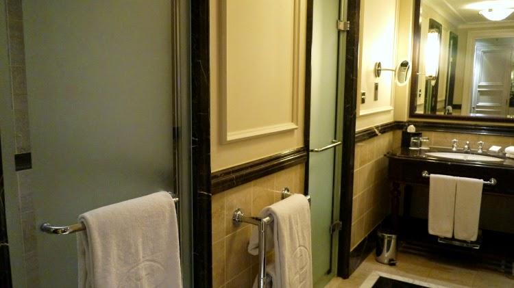 Langham hotel london bathroom