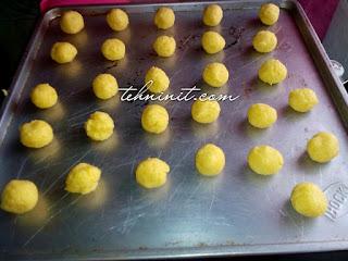 cara membuat kue kering putri salju praktis hemat