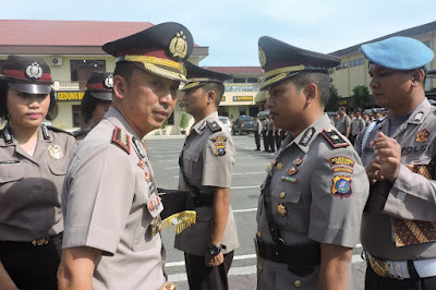 Kompol Wira Prayatna Jabat Kapolsek Sunggal