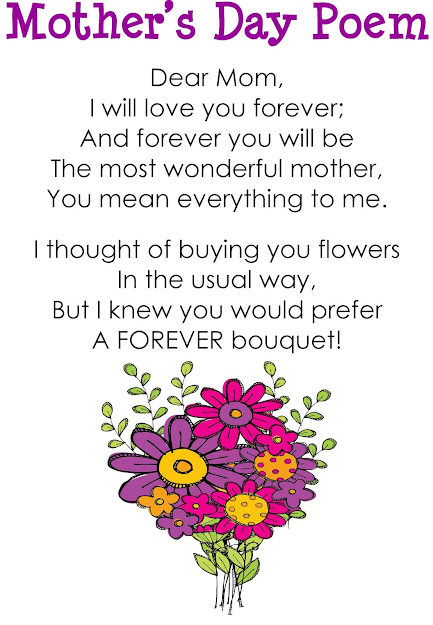 Kindercraze Kindergarten Blog Mothers Day Forever Bouquet And Freebie