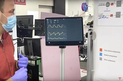 تيسلا تكشف عن أجهزة تنفس اصطناعي بناء على قطع غيار سياراتها