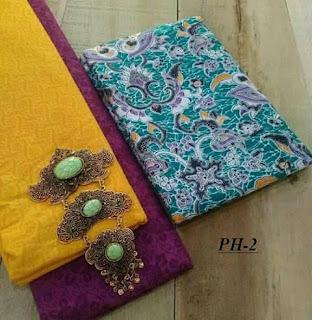1 set Kain batik adem motif solo paket embos