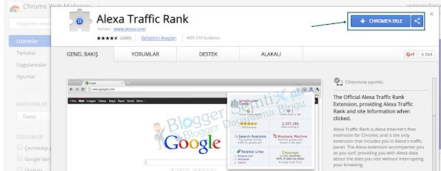 Alexa Toolbar (Alexa Traffic Rank) ile Sitenizi Daha Hızlı İnceleyin