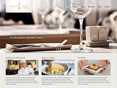 White Rock v2.2 Restaurant WP Theme Free