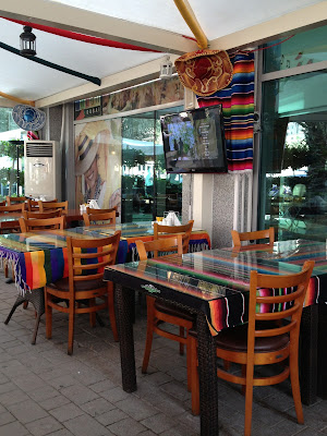 Salsa Restaurant terrace with aircon