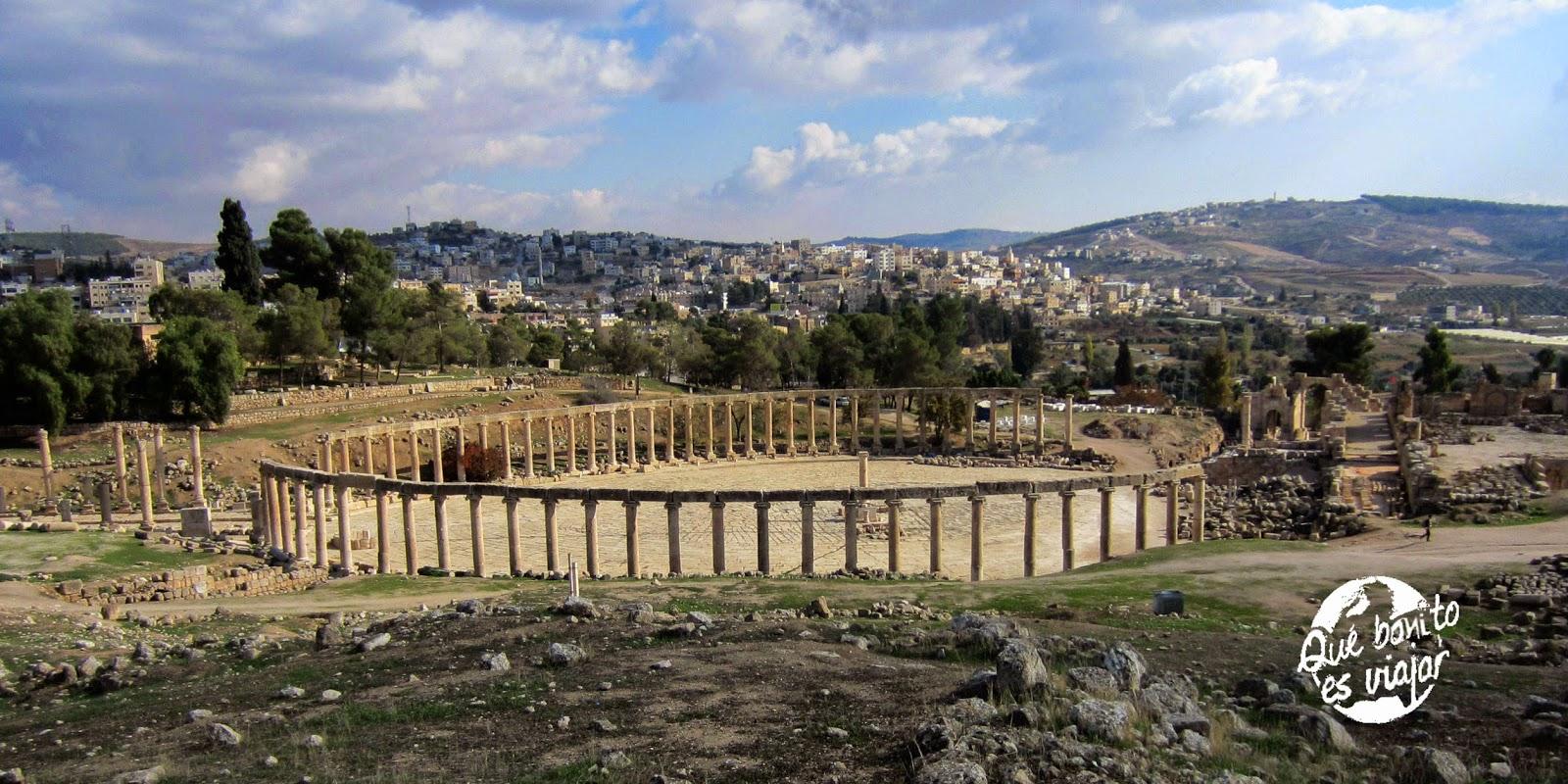 Jerash, el legado romano en Oriente Medio