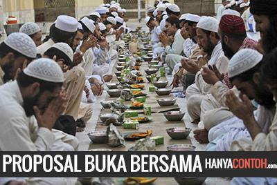 Contoh Proposal Kegiatan Buka Puasa Bersama Bulan Ramadhan Hanya
