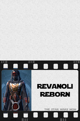 Free printable Star Wars Party Food Label Revanoli Reborn - Ravioli Lasagna