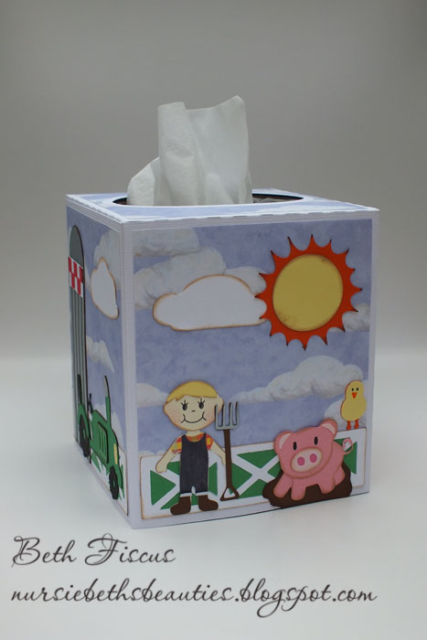 SVG Attic Blog: Farm Themed Tissue Box Cover