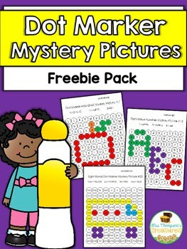 Free Dot Marker Mystery Pictures