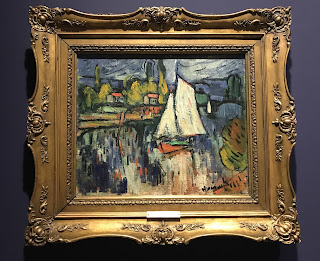 The Hermitage Museum's oil on canvas by Maurice de Vlaminck, entitled 'View of the Seine', circa 1906