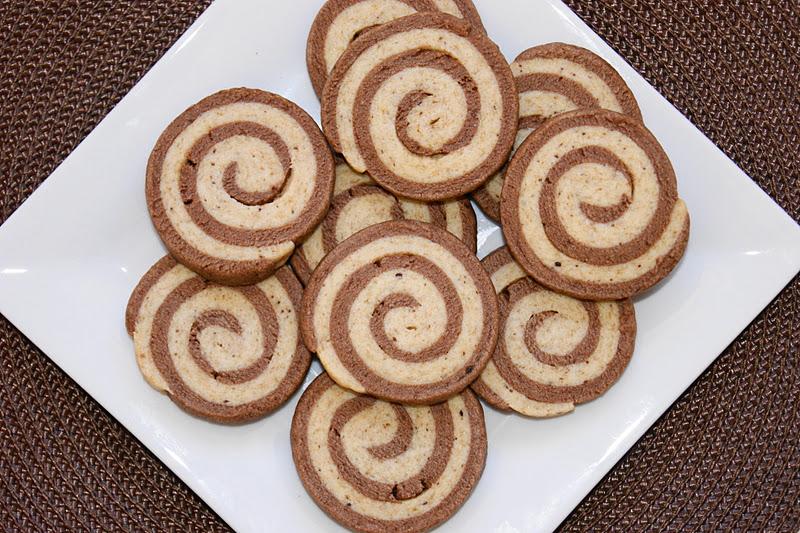 Mocha Swirl Cookies   The Kitchen is My Playground