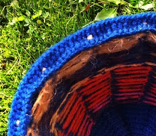 czapka z grubej wełny