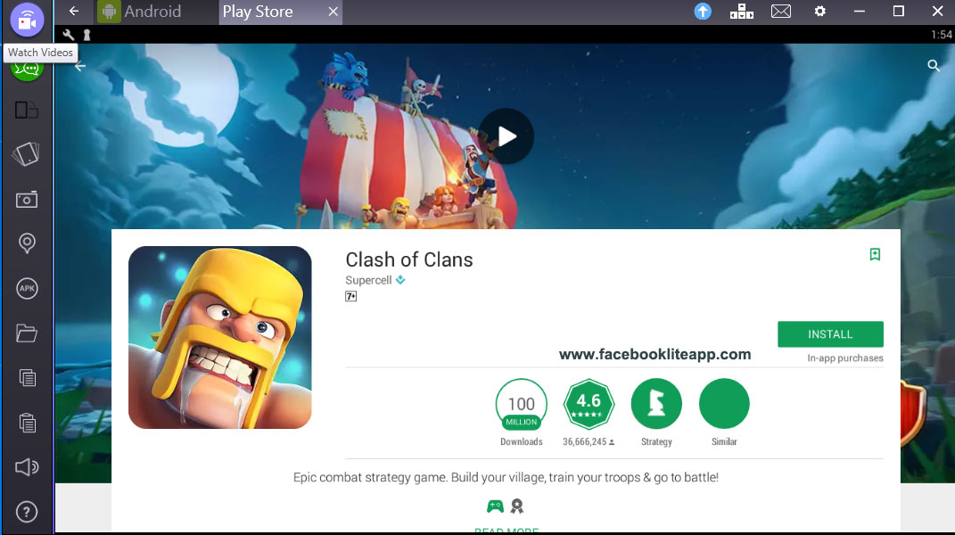 download clash of clan apk for pc