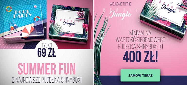 Summer Fun - zestaw dwóch najnowszych pudełek ShinyBox ExtraBox