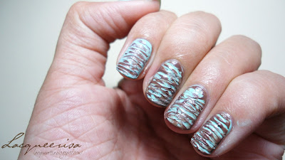NOTD - Chocolate Mint