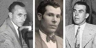 Los ajedrecistas Colomer, Devesa y Comas