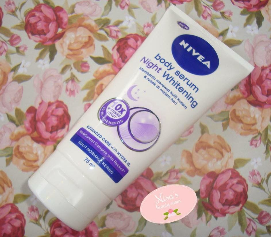 Review Nivea Night Whitening Body Serum
