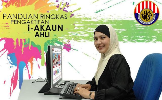 Cara Daftar i-Akaun KWSP Secara Online