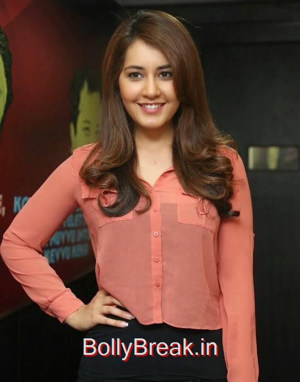 Telugu Actress Rashi Khanna, Rashi Khanna Cute Photos, Face Close up Images