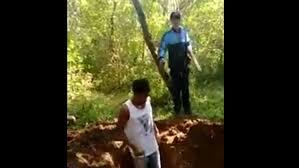 VIDEO: Obligan a dos brasileños a cavar su propia tumba antes de ser ejecutados