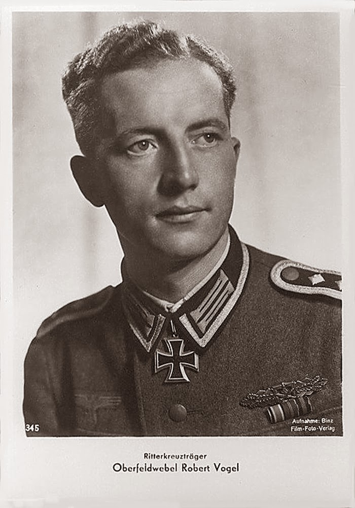 Robert Vogel Ritterkreuzträger Knight Cross Holder Postcard