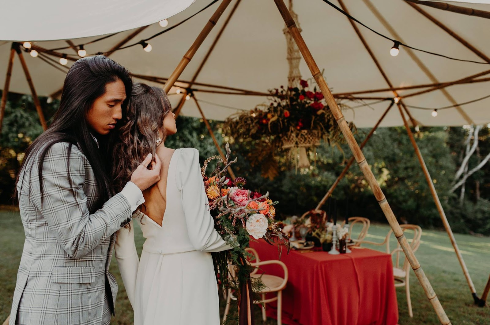 Q+A: MONTVILLE YURTS | REASONS TO GO FOR THAT MARQUEE WEDDING SUNSHINE COAST QLD