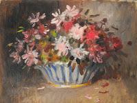 Floral Arrangement Still Life, Nikolai Becker