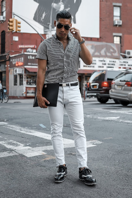 Rules for Wearing White After Labor Day from a Menswear Blogger and Influencer | Asian Male