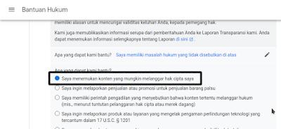 Lapor Plagiarism Google