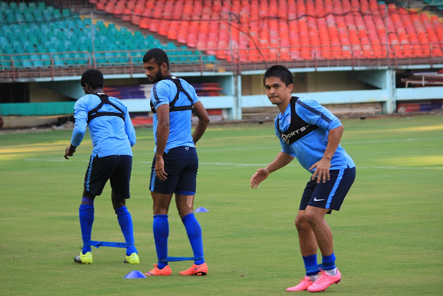 Team India practice session at Kochi