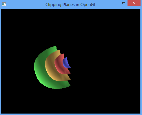 OpenGL Projects: OpenGL Clipping Plane Example