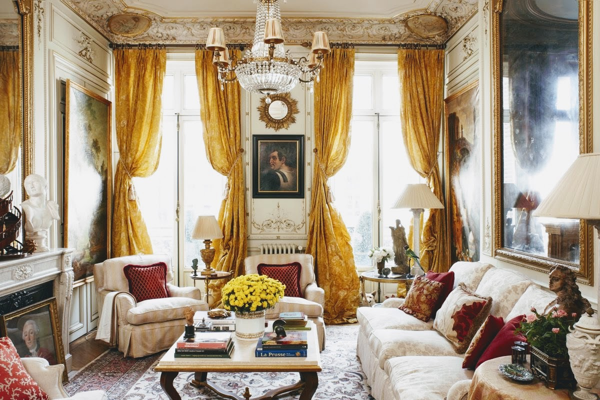 parisian living room decor inspiration timothy corrigan s apartment 10132
