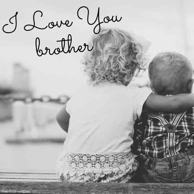 i love you brother cute baby sister
