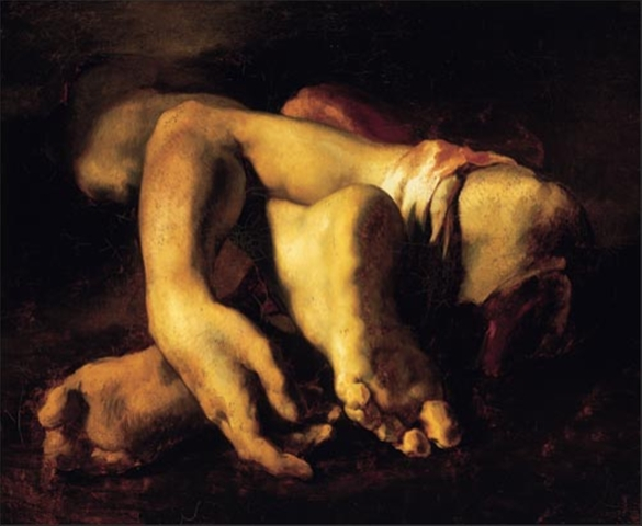 Théodore Géricault, Study of Severed Limbs, 1818