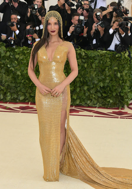 Olivia Munn wears H&M to The Met Gala