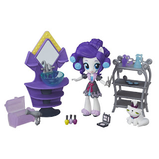 My Little Pony Equestria Girls Minis Rarity Slumber Party Beauty Set