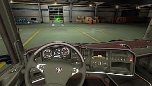 New interior for Scania Streamline by Farzad
