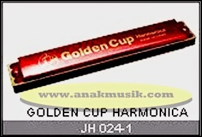 Harmonika Golden Cup JH024 Red