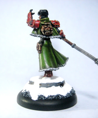 Sorscha - Khador Warcaster painted by DC23 photo