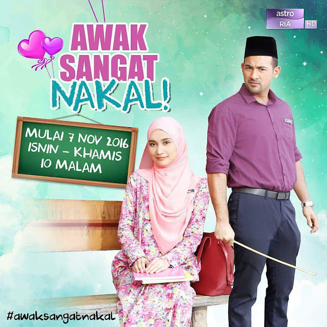 Drama Awak Sangat Nakal Episod 1 - Episod 16 ( Full Episod )